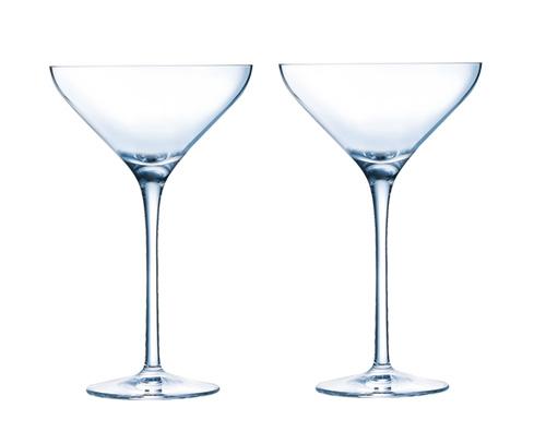 Cocktail Glas Martini Kelch 70/'er Eis Sahne Zucker Teelicht Himbeeren Kaviar