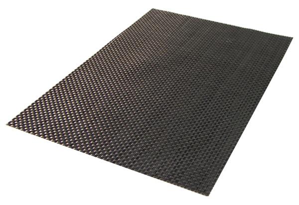 tischset platzdeckchen platzset abwaschbar silber grau kunststoff pvc. Black Bedroom Furniture Sets. Home Design Ideas